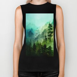 Mountain Morning Biker Tank