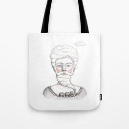 Bearded lady (Femme à barbe) Tote Bag