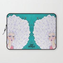 Puffball by Jane Davenport Laptop Sleeve
