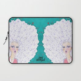 Puffball by Jane Davenport Laptop Sleeve