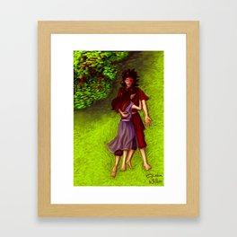 Zutara - Unity Framed Art Print