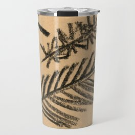 Kraft Paper Pine Travel Mug