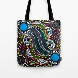 Waterhole Dreaming Tote Bag