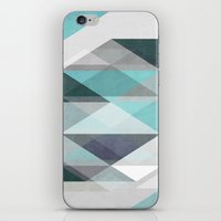 nordic iPhone & iPod Skins featuring Nordic Combination 1 X by Mareike Böhmer