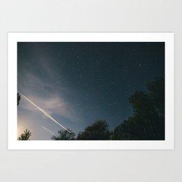 Night Sky Art Print