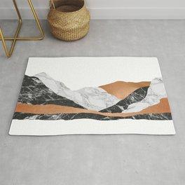 Marble Landscape I, Minimal Art Rug