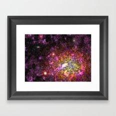 Nebula IV Framed Art Print