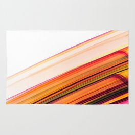 Fast Forward Abstract Artwork Rug