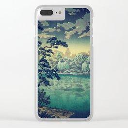 At Yasa Bay Clear iPhone Case