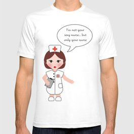 Jobs serie: the nurse T-shirt