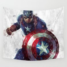 CaptainAmerica Wall Tapestry