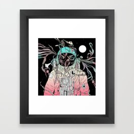 Life is Invading My Space Framed Art Print