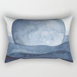 Moon Landscape Rectangular Pillow