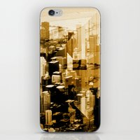 chicago iPhone & iPod Skins featuring Chicago by DM Davis