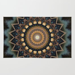 Mandala cosmic consciousness Rug