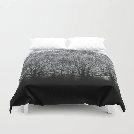 The trees of the mind are black. ' Duvet Cover