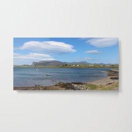 Lenticular Cloud near Bunessan, Isle of Mull, Scotland. Metal Print