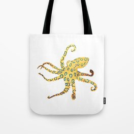 Blue-ringed Octopus (Octopussy) Tote Bag