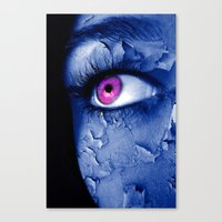 broken Canvas Prints featuring BROKEN  by INA FineArt