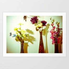 Floral everything Art Print