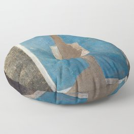 Live Like Pompeii Patricii Floor Pillow