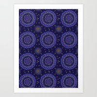 rave Art Prints featuring Rave by Katie Duker