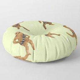 Wookie Dance Party Floor Pillow