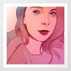 Suzan Art Print