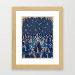 Nameless Hero Framed Art Print