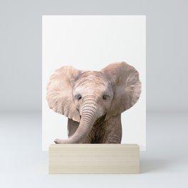 Cute Baby Elephant Mini Art Print