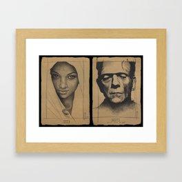 Even Adam Framed Art Print
