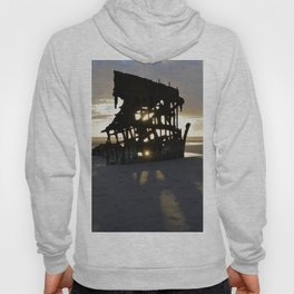 Wreck of the Peter Iredale at sunset Hoody