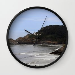 Heceta Head Lighthouse Wall Clock