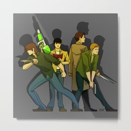 Supernatural Metal Print