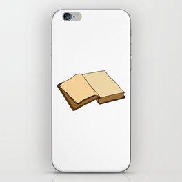 Open Book iPhone Skin