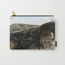 Old Gesher-Train Bridge Carry-All Pouch