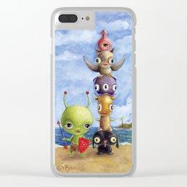 Glax Clear iPhone Case