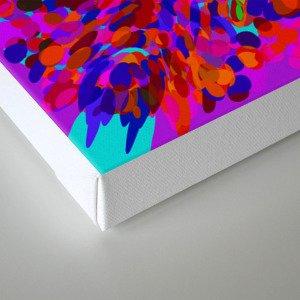 ovoid dynamics 3 Canvas Print