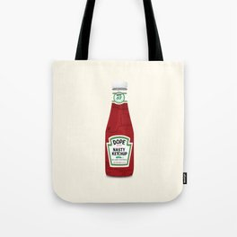 Nasty Ketchup Tote Bag