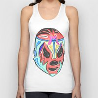mexico Tank Tops featuring MEXICO by MANDIATO ART & T-SHIRTS