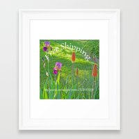 free shipping Framed Art Prints featuring Free Shipping.... by Cherie DeBevoise