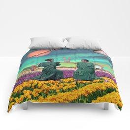 Galaxy of Flowers Comforters
