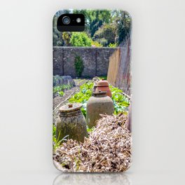 The Lost Gardens of Heligan - Rhubarb Pots iPhone Case