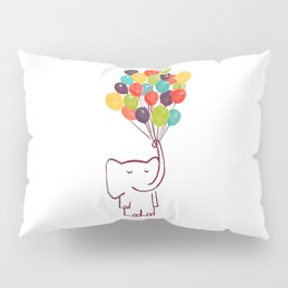 Flying Elephant Pillow Sham