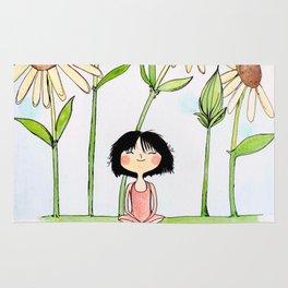 Among the Flowers Rug