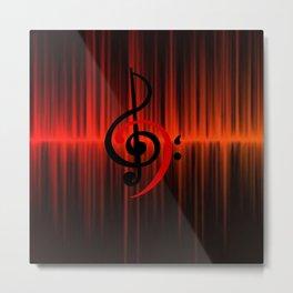 c-sus audio Metal Print