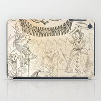 alice in wonderland iPad Cases featuring Wonderland  by Jgarciat