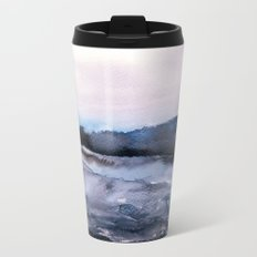 layers of colour 2 Metal Travel Mug