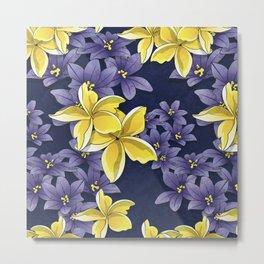 Complementary flowers Metal Print