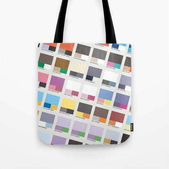 Poke-Pantone 6 (Kalos Region) Tote Bag